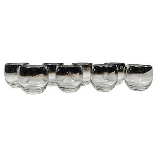 Dorothy Thorpe Mercury Glasses, S/8 For Sale