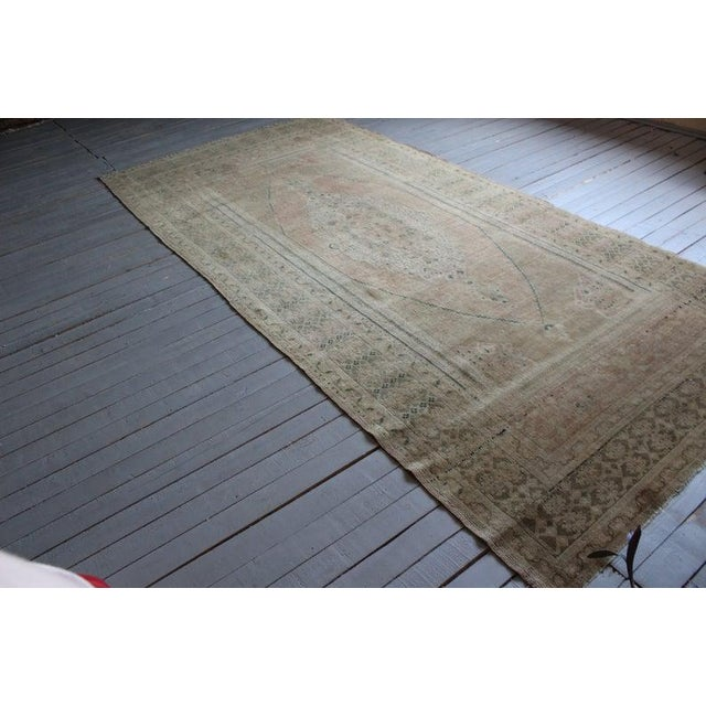Vintage Hand Knotted Anatolian Rug For Sale - Image 4 of 10
