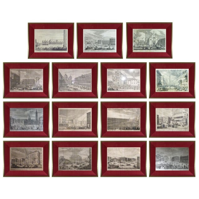 Rare Venice Engravings C. 1720 - Set of 15 - Image 1 of 10