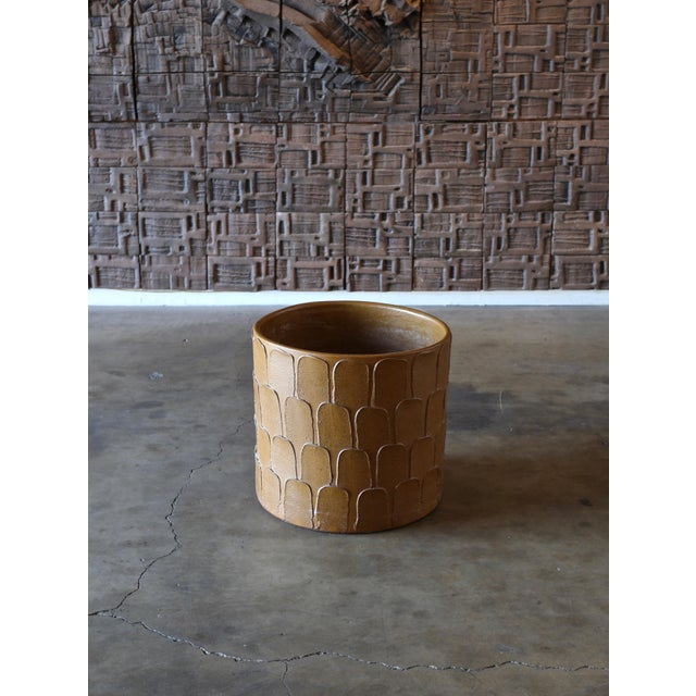 """""""Leaf Pattern"""" Planter by David Cressey for Architectural Pottery. Circa 1965"""