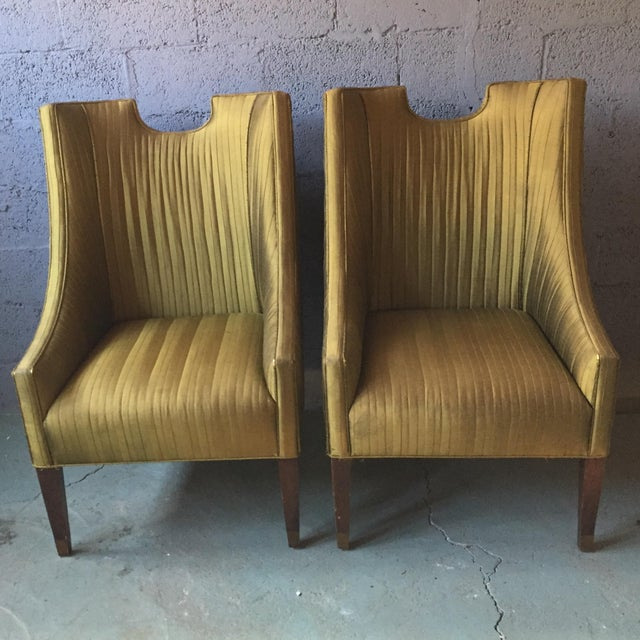 Vintage Club Chairs by Lane - A Pair - Image 11 of 11