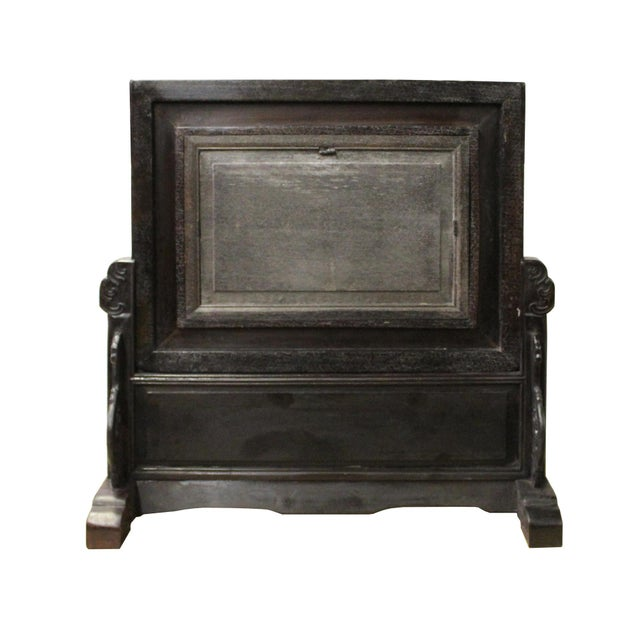 Chinese Dream Stone Fengshui Rectangular Table Top Display Art For Sale - Image 4 of 10