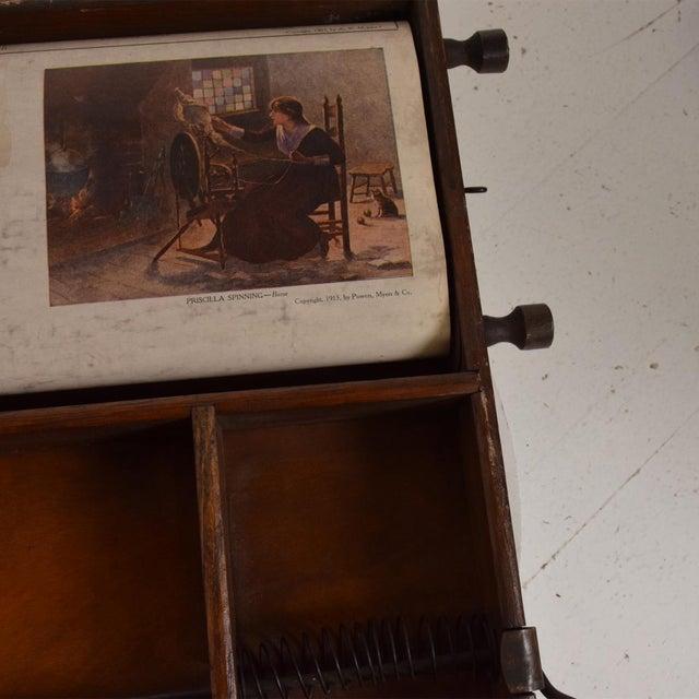 Antique Chautauqua Industrial Art Desk Lewis E. Myers & Company For Sale - Image 10 of 11