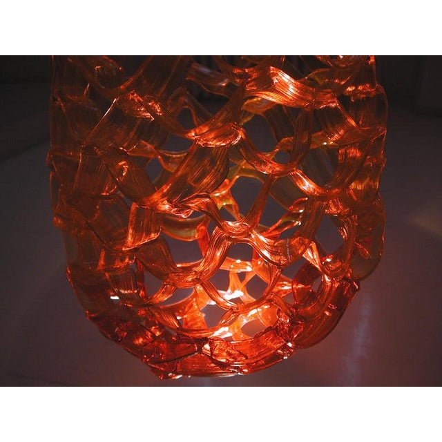 Not Yet Made - Made To Order Goccia Chandelier in Yellow Resin by Jacopo Foggini For Sale - Image 5 of 6