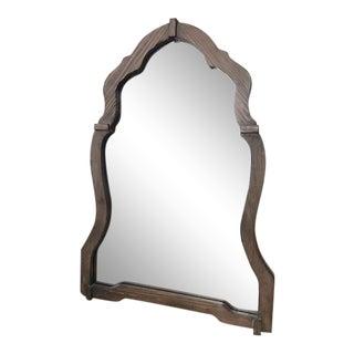 Uttermost Light Walnut Agustin Mirror For Sale