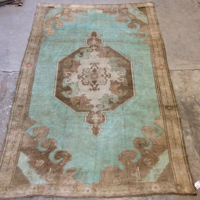 "Turkish Anatolian Rug -6'6""x10'6"" For Sale - Image 13 of 13"