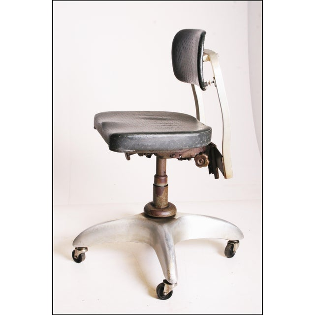 Vintage Industrial Swivel Office Chair by Goodform - Image 5 of 11