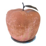 Image of Italian Terra Cotta & Metal Apple For Sale