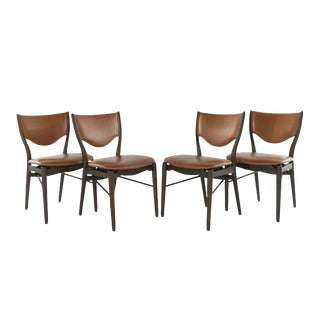 Model Bo-63 Side Chairs by Finn Juhl for Bovirke, 1952 - Set of 4 For Sale