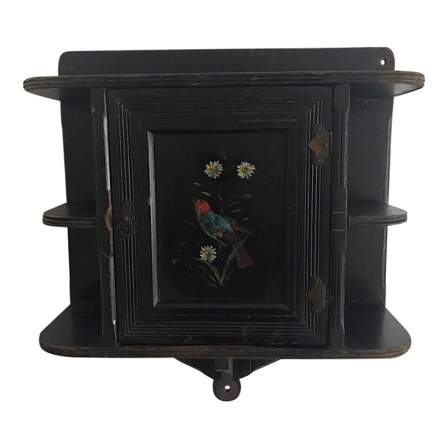 Cabinet - Vintage Wall Cabinet - Image 1 of 7