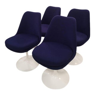 Eero Saarinen for Knoll Swivel Tulip Dining Chairs - Set of 4