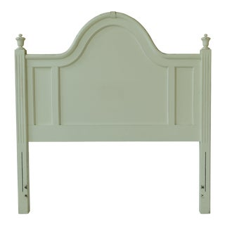 Lexington White Painted Distressed Full Size Bed Headboard For Sale