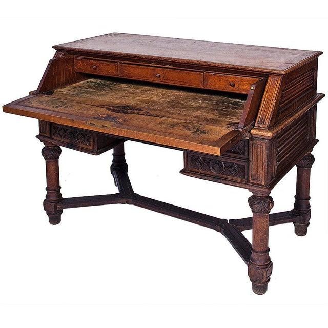 Walnut 19th Century Italian Desk For Sale - Image 7 of 7