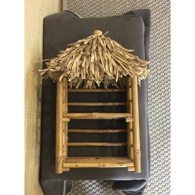 Bamboo Tiki Display Shelves - Image 9 of 9