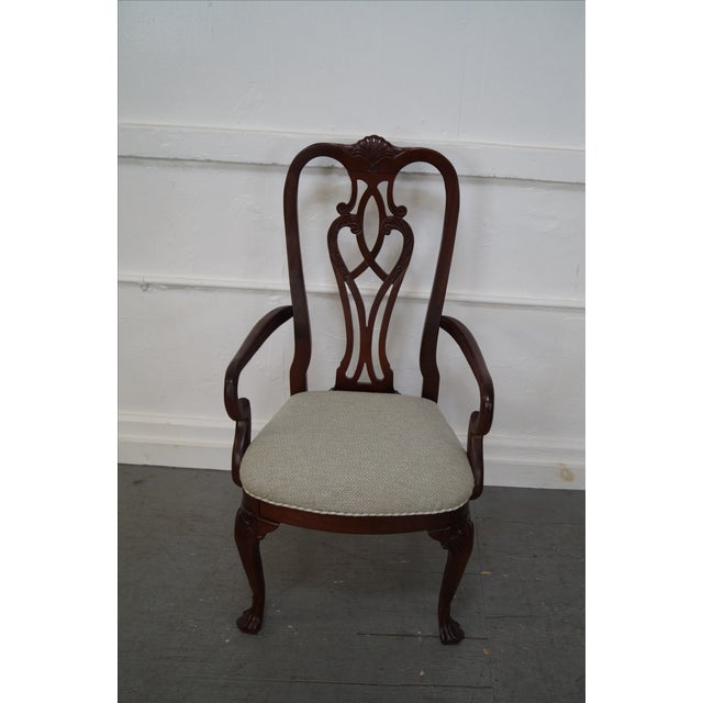 Ethan Allen 18th Century Mahogany Dining Chair - 6 - Image 2 of 10