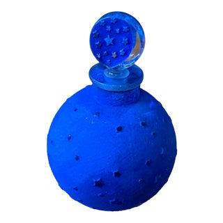 Original Lalique 'Dans La Nuit' Moon and Stars Scent Bottle For Sale