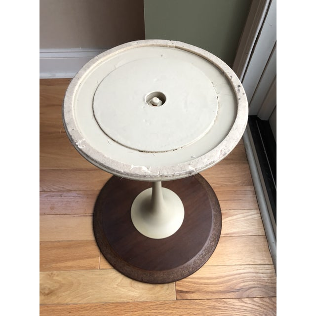 Wood Saarinen for Knoll Tulip Table For Sale - Image 7 of 8