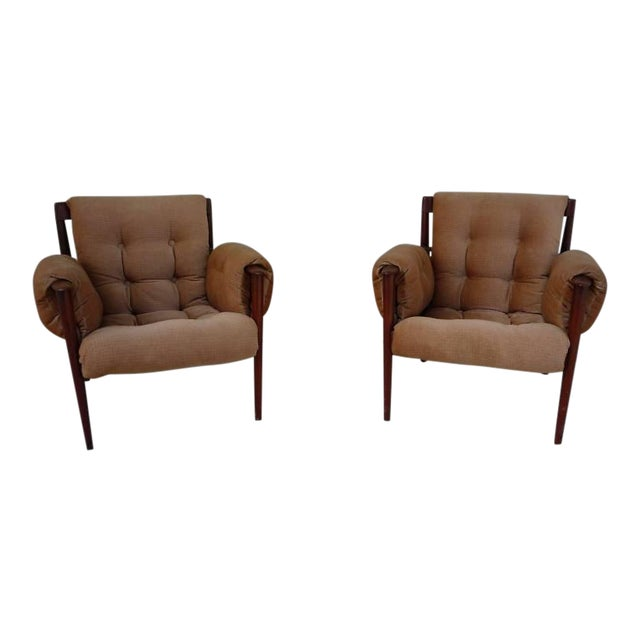 1950's Vintage Greta Jalk & Poul Jeppesen Chairs- A Pair For Sale