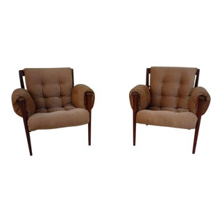 1950's Vintage Grete Jalk & Poul Jeppesen Chairs- a Pair For Sale