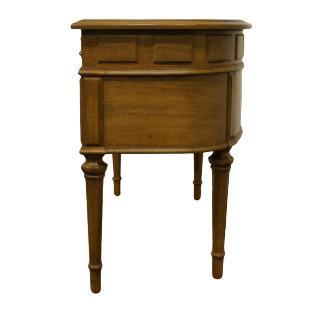"Brown Drexel Heritage Esperanto Collection Spanish Mediterranean 42"" Vanity W. Pop-Up Mirror 401-310 For Sale - Image 8 of 12"