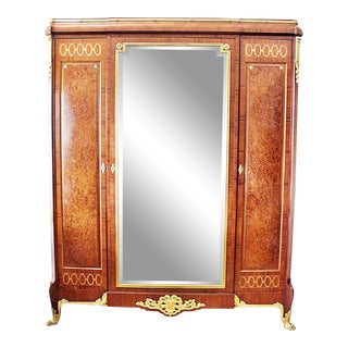 Haentges Freres French Armoire For Sale