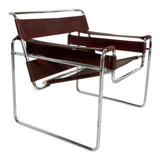 Pair of Marcel Breuer Wassily Chairs for Gavina, Mid Century Modern Italy For Sale