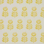 Sample - Schumacher Rosenborg Wallpaper in Yellow
