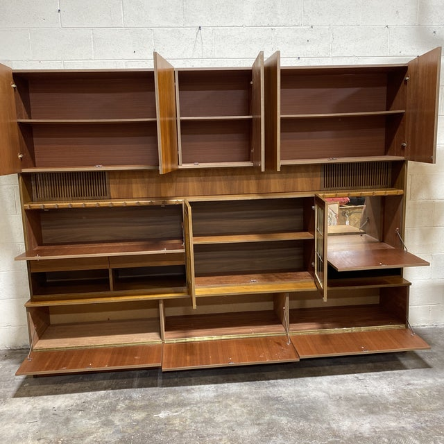 Scandinavian Modular Wall Unit For Sale - Image 4 of 13