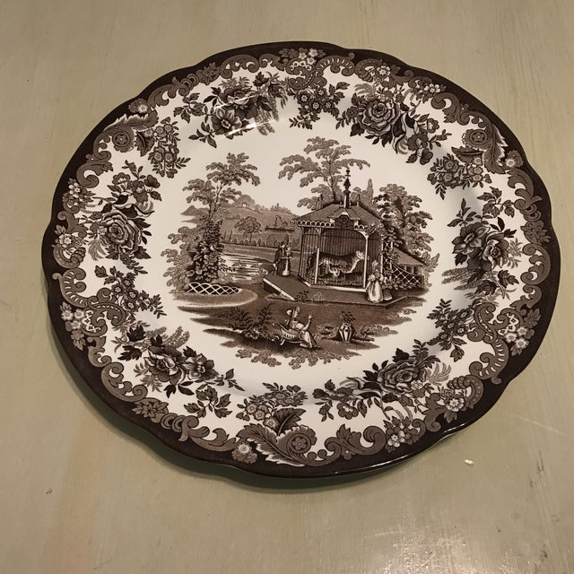 Ceramic The Spode Archive Collection Plates - Set of 6 For Sale - Image 7 of 10