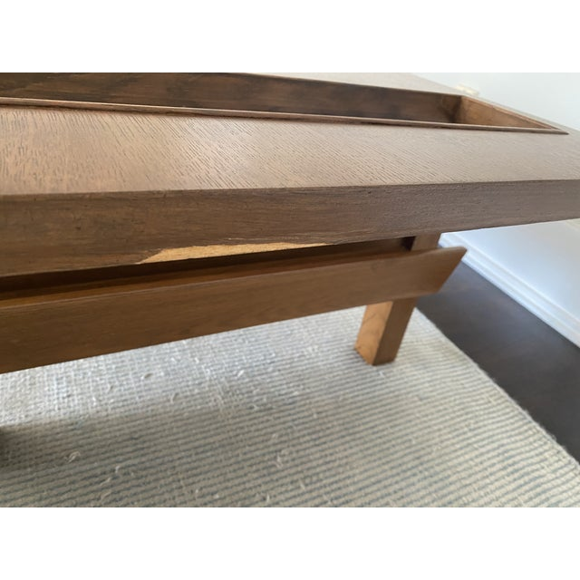 Mid-Century Modern Lane Coffee Table with Magazine Holders For Sale - Image 3 of 8