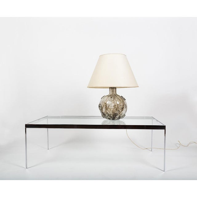 Barovier & Toso Barovier & Toso Glass Crepusculo Lamp For Sale - Image 4 of 13