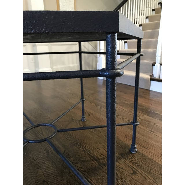 Custom Furniture Builders Modern Giacometti Style Hexagonal Center Table For Sale - Image 4 of 9