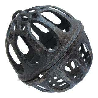 Black Iron Bakers Twine Holder For Sale