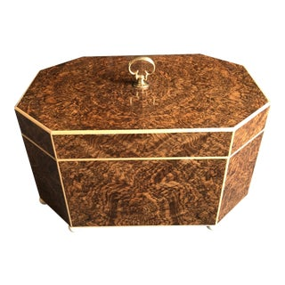Burled Walnut & Sycamore Box