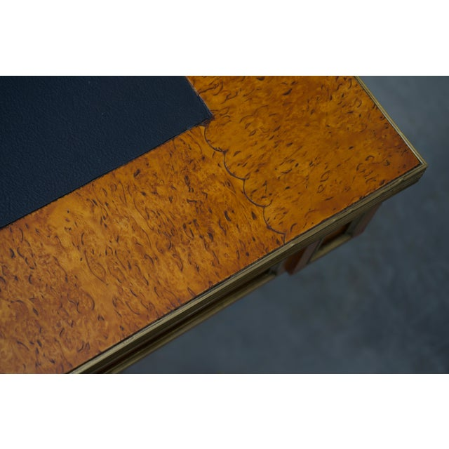Late 19 Century Russian Czarist Regency Library Table For Sale - Image 9 of 12