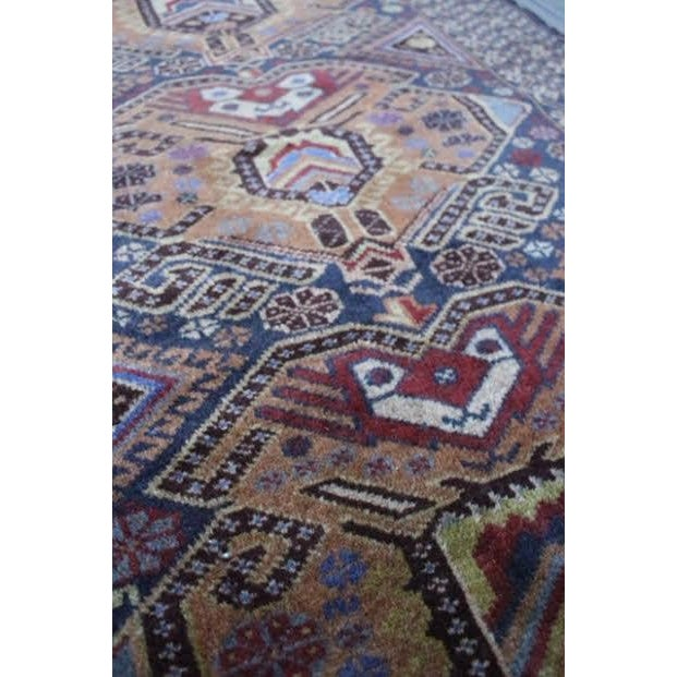 """Vintage Persian Balouch Rug - 2'9"""" X 4'5"""" - Image 4 of 9"""