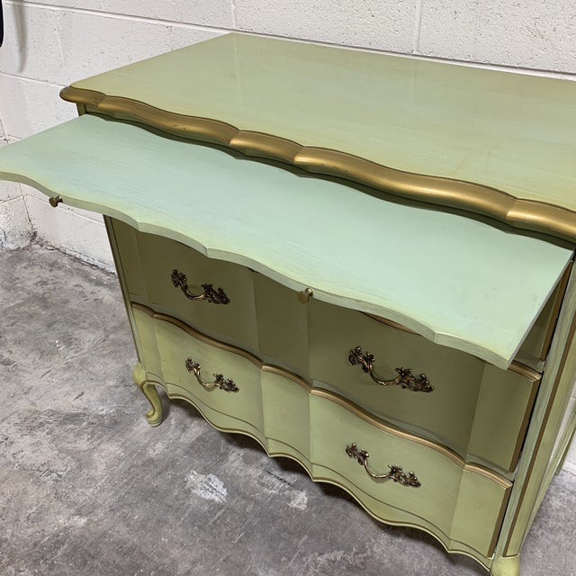 1970s 1970s Vintage Permacraft French Provincial Chest For Sale - Image 5 of 13