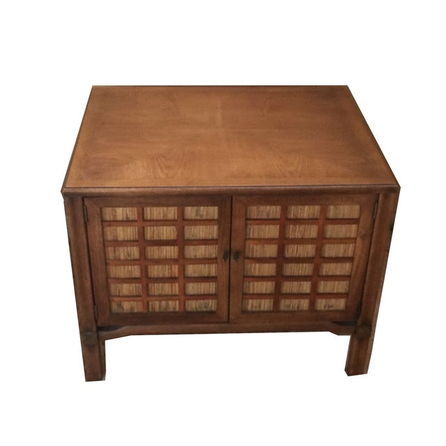 Mid-Century Modern Square Commode - Image 1 of 5