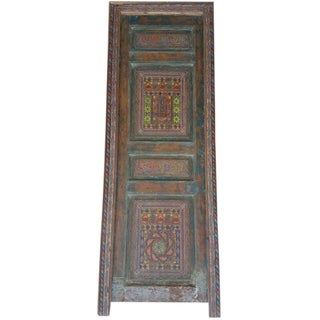 Moroccan Multi-Color Single Panel Door For Sale