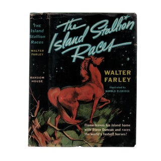 "1955 ""First Edition, the Island Stallion Races"" Collectible Book For Sale"