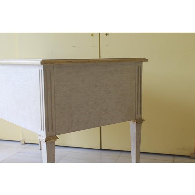 1960s Vintage Ladies Kneehole Writing Desk For Sale - Image 10 of 13