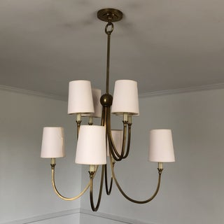 Thomas O'Brien 2-Tier Reed Chandelier in Hand Rubbed Antique Bronze Preview
