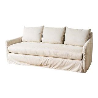 Cassandra Herringbone Sofa II For Sale