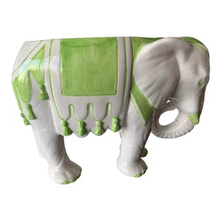 1970s Vintage Elephant Planter For Sale
