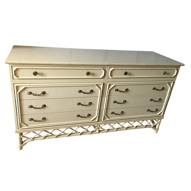 Ficks Reed Hollywood Regency Dresser - Image 1 of 6