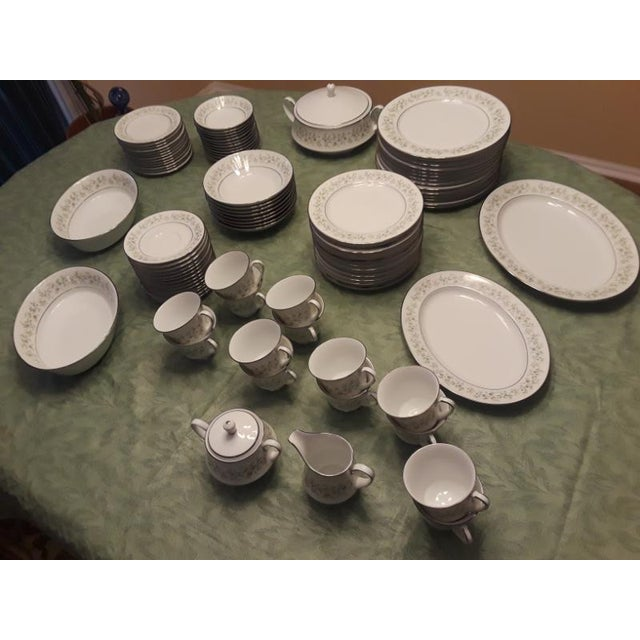 Ceramic Noritake Savannah China - 96 Pieces For Sale - Image 7 of 9