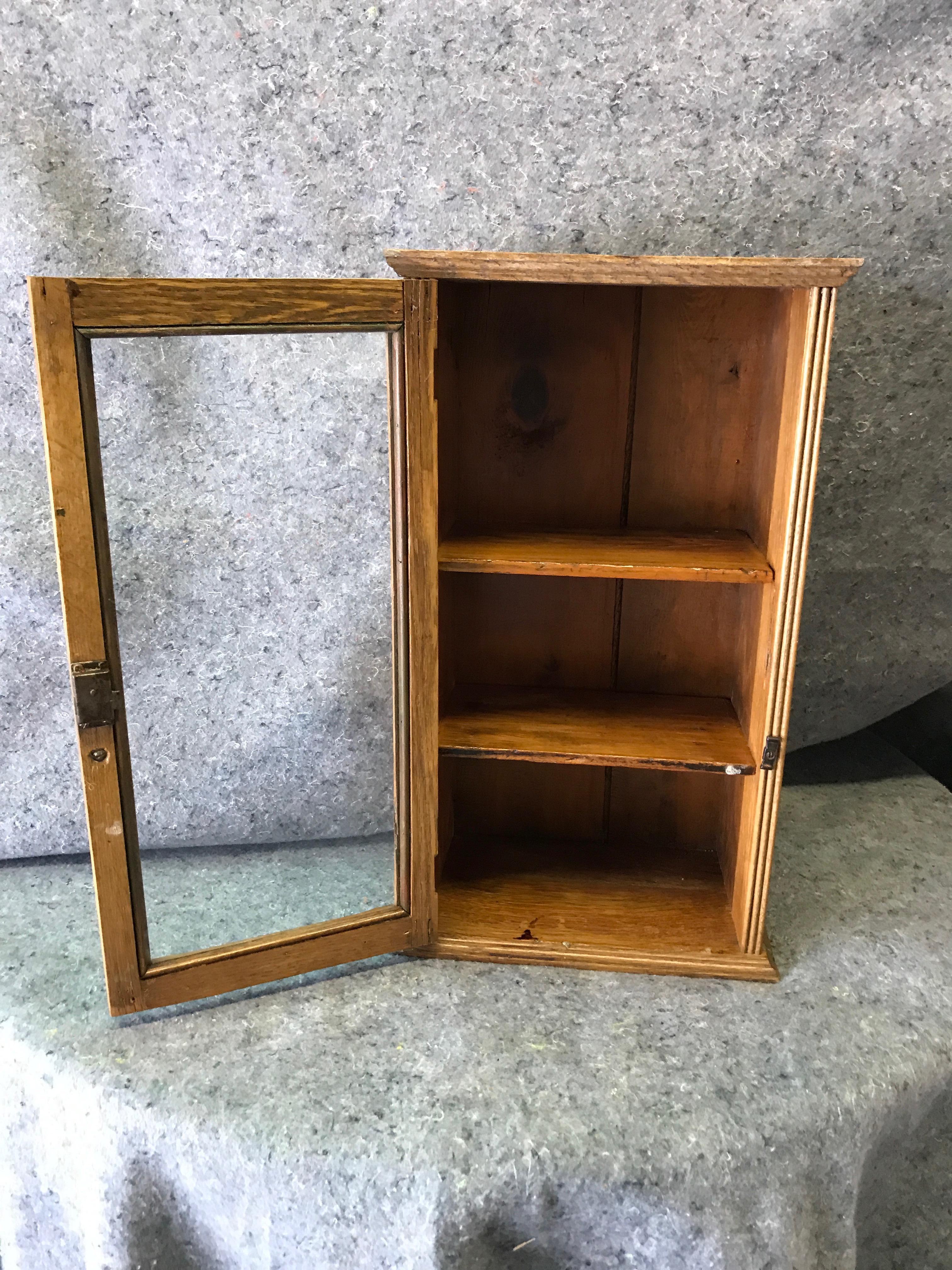 early 20th century antique table top display cabinet chairish rh chairish com