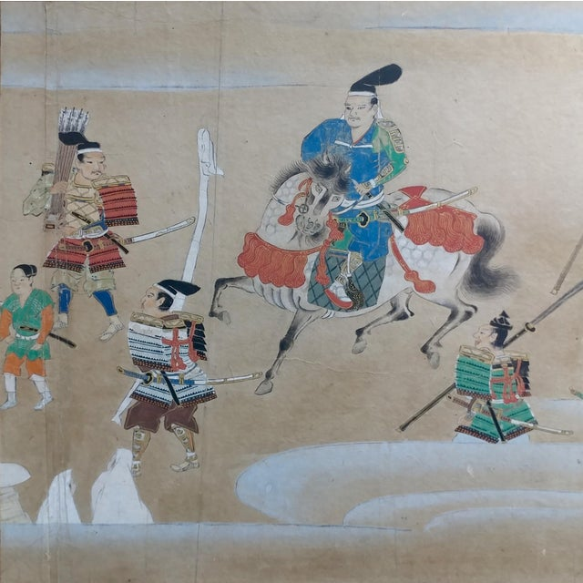 Chinese Antique Paintings on Paper - a Pair For Sale In Los Angeles - Image 6 of 10