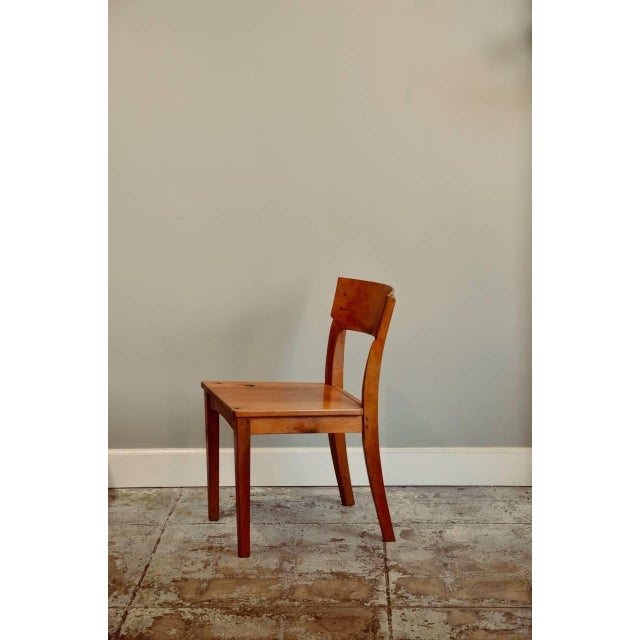 Brown 1990s Vintage Woodworker Studio Chairs- A Pair For Sale - Image 8 of 12