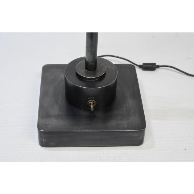 Oblik Studio Inc. Brass and Steel Desk Lamp. For Sale - Image 10 of 11